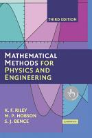 Mathematical Methods for Physics and Engineering PDF