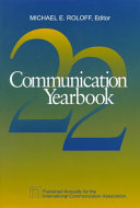 Communication Yearbook PDF