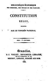 Constitution Belge