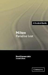 Milton  Paradise Lost Book