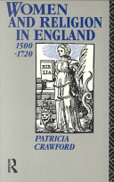 Women and Religion in England  1500 1720 PDF