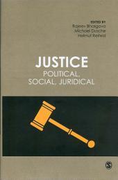 Justice: Political, Social, Juridical