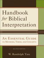Handbook for Biblical Interpretation PDF