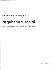 Architecture of Social Concern in Regions of Mild Climate PDF