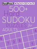 500+ Hard Sudoku Puzzles for Adults