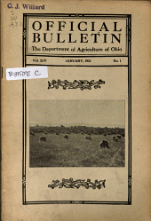 Official Bulletin: Volume 14, Issue 1