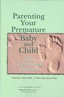 Parenting Your Premature Baby and Child PDF
