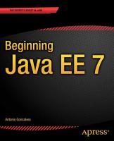 Beginning Java EE 7 PDF
