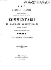 Commentarii in Sacram Scripturam: Volume 1, Part 1