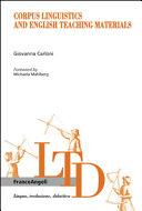 Corpus Linguistics and English Teaching Materials