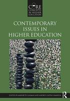Contemporary Issues in Higher Education PDF