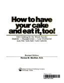 How to Have Your Cake and Eat It  Too  PDF