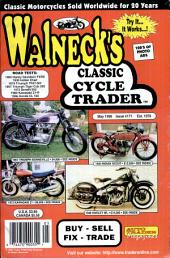 WALNECK'S CLASSIC CYCLE TRADER, MAY 1998