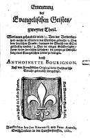 Die Erneuerung Des Evangelischen Geistes PDF
