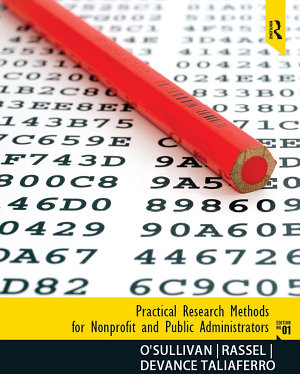 Practical Research Methods for Nonprofit and Public Administrators  Instructor s Manual  Download only