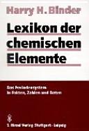 Lexikon der chemischen Elemente PDF