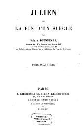 Julien ou la fin d'un siècle: Volume4