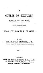 Twenty sermons, suitable to the times, on the first part of the Book of Common Prayer