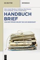 Handbuch Brief PDF