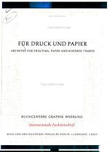 Archiv f  r Druck und Papier PDF
