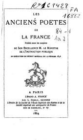 Hugues Capet: chanson de geste