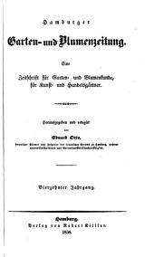 Neue allgemeine deutsche Garten- und Blumenzeitung: Band 14