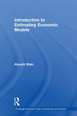 Introduction to Estimating Economic Models PDF