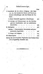 Journal für Chemie und Physik: Band 30
