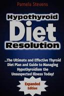 Hypothyroid Diet Resolution PDF