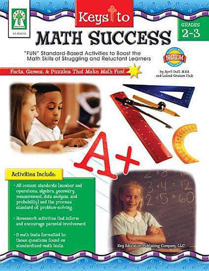 Keys to Math Success  Grades 2   3 PDF