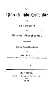 Niccolo Machiavelli's Sämmtliche Werke: Band 4