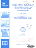Old River Low Sill Control Structure   Dynamic Hydraulic Forces Acting on the Stilling Basin  Survey Boat Safety  and Debris Passage  Hydraulic Model Investigation PDF