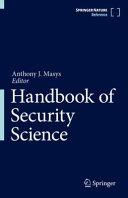 Handbook of Security Science