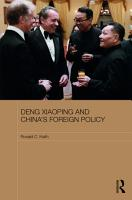 Deng Xiaoping and China s Foreign Policy PDF