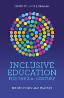 Inclusive Education for the 21st Century PDF
