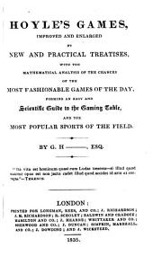 Hoyle's Games, improved and enlarged by G. H--.