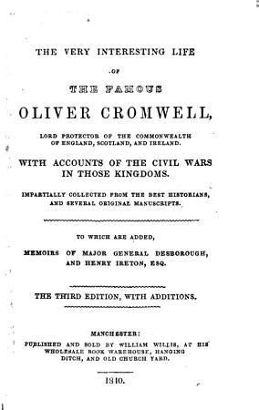 The Very Interesting Life of the Famous Oliver Cromwell      PDF