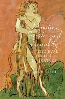 Monsters  Gender and Sexuality in Medieval English Literature PDF