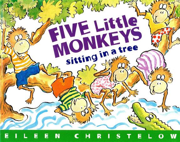 Five Little Monkeys Sitting in a Tree (Read-aloud)