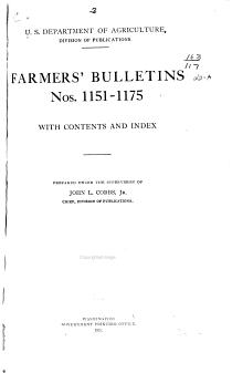 FARMER S BULLETINS PDF