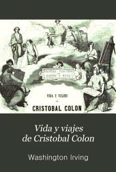 Vida y viajes de Cristobal Colon