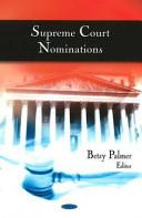 Supreme Court Nominations PDF