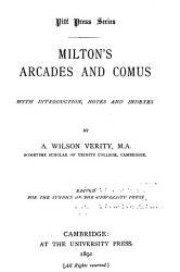 Milton s Arcades and Comus PDF