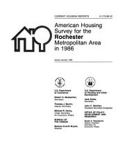 Current Housing Reports: American housing survey for the Rochester metropolitan area in ...