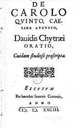 De Carolo Quinto, Caesare Augusto