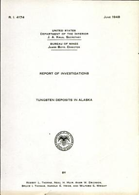 Tungsten Deposits in Alaska PDF