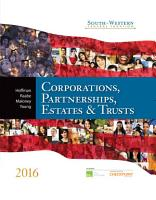 South Western Federal Taxation 2016  Corporations  Partnerships  Estates and Trusts PDF