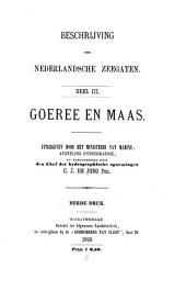 Beschrijwing der nederlandsche zeegaten: Goeree en Maas