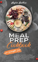 Meal Prep Cookbook for Weight Loss