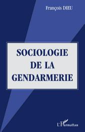 Sociologie de la gendarmerie